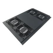 Unidad  ventilación rack cuatro ventiladores bajo ruido