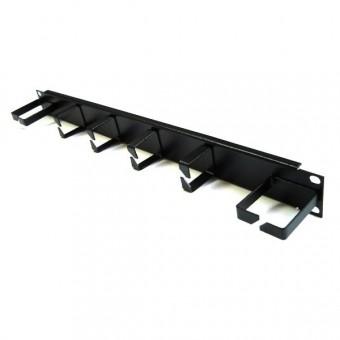 Panel pasacables rack 4 bocas vertical 2 horizontal