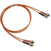 Latiguillo fibra óptica Duplex OM1 3m ST - ST MM Blueline