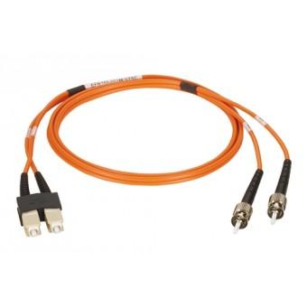 Latiguillo fibra óptica Blueline Duplex OM1  2m LC - ST MM 62.5/125
