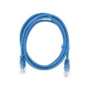 Latiguillo RJ45 Cat6 UTP 1m azul