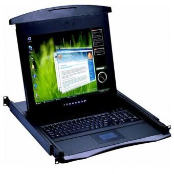 "Consola KVM  rack 19"" CyberView 17"""