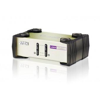 KVM ATEN 2 Puertos USB-PS/2 VGA