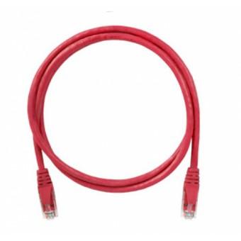 Latiguillo RJ45 Cat6 UTP 1m rojo