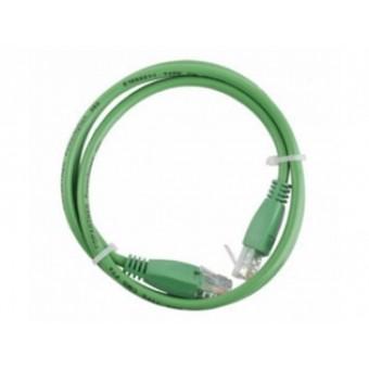 Latiguillo RJ45 Cat6 UTP 0.5m verde