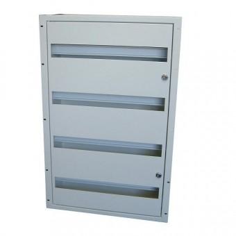 Caja carril DIN rack 19 17U