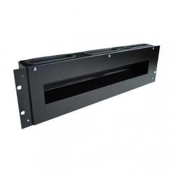 "Caja carril DIN 3U rack 19"""