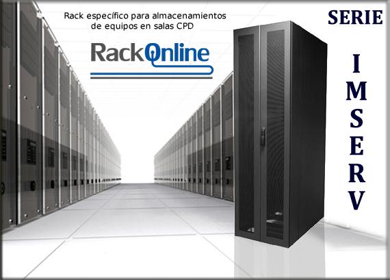 Armario rack 42U para servidores