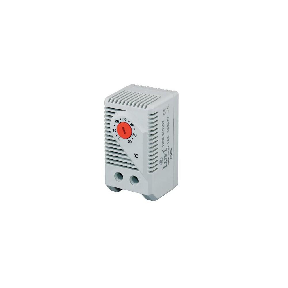 Termostato calefacci n din y rack 19 comprar venta precio for Precio termostato calefaccion