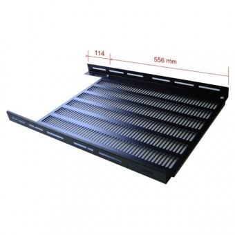 "Bandeja rack 19"" 556 mm  rack fondo 800"