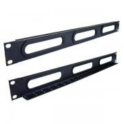 Panel pasacable rack 3 aberturas 1U