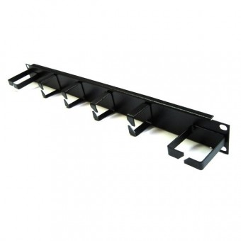 Panel pasacables rack 4 bocas vertical 2 horizontal