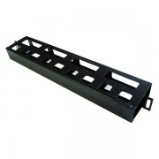 Panel pasacables rack con tapa 1U
