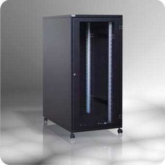 "Armario rack 19""  25U acústico, insonorizado,  600 x 800, negro"