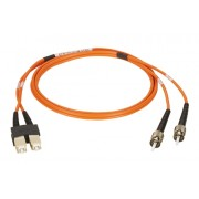 Latiguillo fibra óptica dúplex OM1  2m ST-SC MM 62.5/125