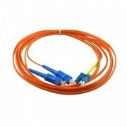 Latiguillo fibra óptica dúplex OM1  2m LC-SC MM 62.5/125