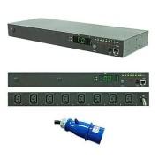 Regleta PDU Rack IP 8 x  IEC C13
