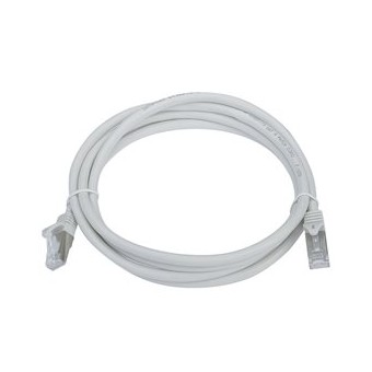 Latiguillo RJ45 Cat6 UTP 3m gris