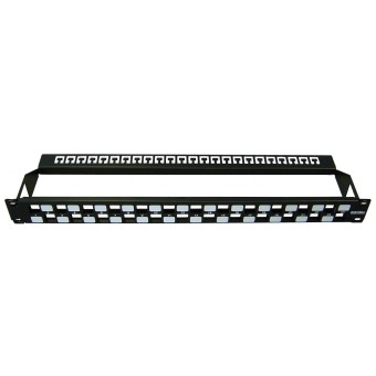 Patch panel vacio rack  1U  24 x Modulos Keystone