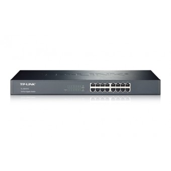 Switch TP-LINK 16 puertos Gigabit rack 19""