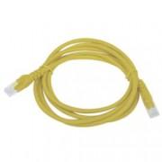 Latiguillo RJ45 Cat6 UTP 2m amarillo