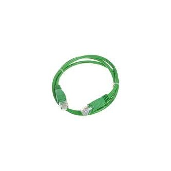 Latiguillo RJ45 Cat6 UTP 1m verde