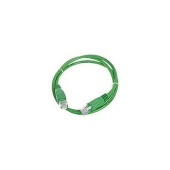 Latiguillo RJ45 Cat6 UTP 1m verde