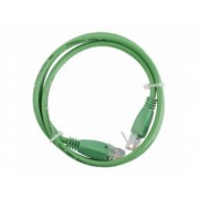Latiguillo RJ45 Cat6 UTP 0.5m verde