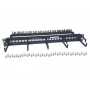Patch panel rack modular 1U  24 x RJ45 Cat6A AT&T