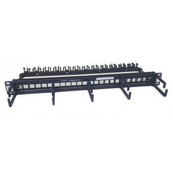 Patch panel rack modular 1U  Vacio AT&T