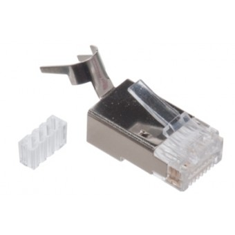 Conector RJ45 Cat7 SFTP 10 unds