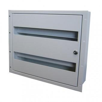 Caja carril DIN 9U rack 19