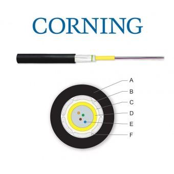 Cable fibra óptica Corning OS2 Monomodo 4 fibras exterior / interior