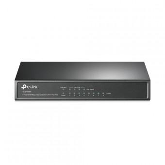 Switch TP-Link Sobremesa 8 puertos 10/100 Mbps 4 port POE