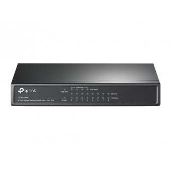 Switch TP-Link Sobremesa 8 puertos Gigabit 4 port POE