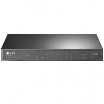 Switch TP-Link Sobremesa 10 puertos Gigabit 8 port POE