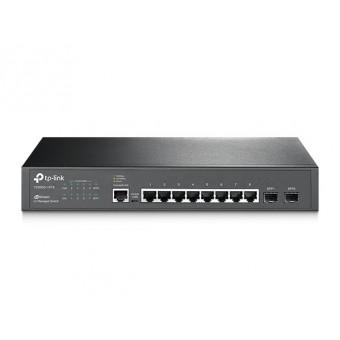 Switch Gestionable TP-Link 8 puertos Gigabit L2 JetStream y 2 Ranuras SFP Rack 19