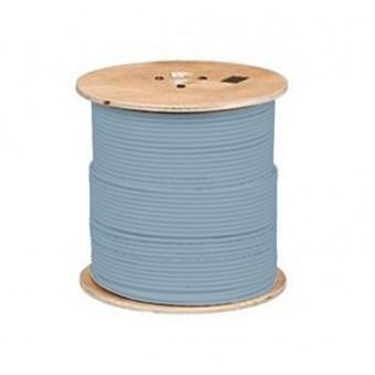 Bobina cable Cat6A  U/FTP LSOH 500m Azul hielo CPR Class DCA Excel