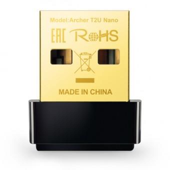 Adaptador USB Inalámbrico Nano de doble banda AC600