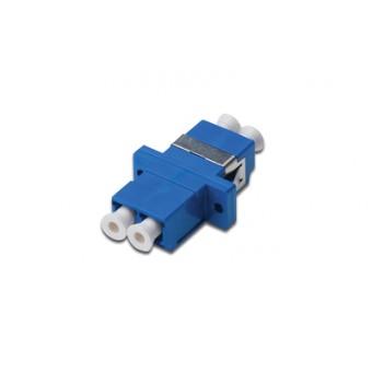 Adaptador fibra óptica LC - LC azul