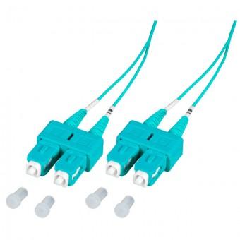 Latiguillo fibra óptica Blueline Duplex OM3  3m SC - SC MM 50/125