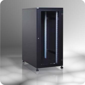 """Armario rack 19""""  25U acústico insonorizado,  600 x 900"""