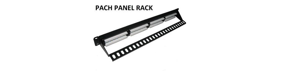 Patch panel rack 19