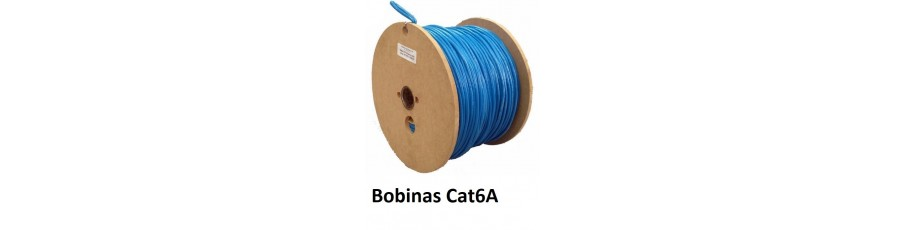 Bobinas de cable Cat6A