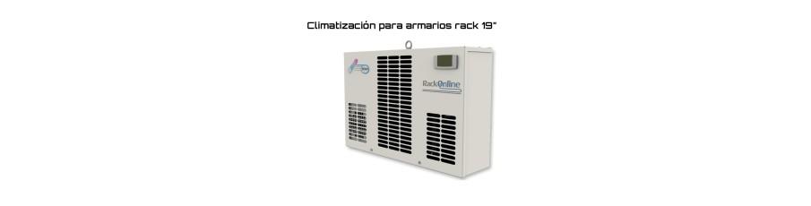 """Climatización armarios rack 19"""""""